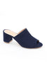 Blue Block Heel