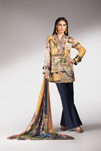 Song Of Winter Dupatta