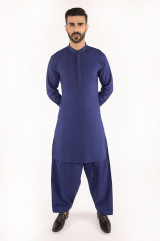 Royal Blue Kurta Shalwar