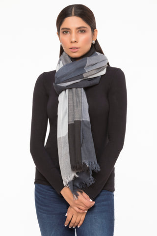 Black & Grey Scarf