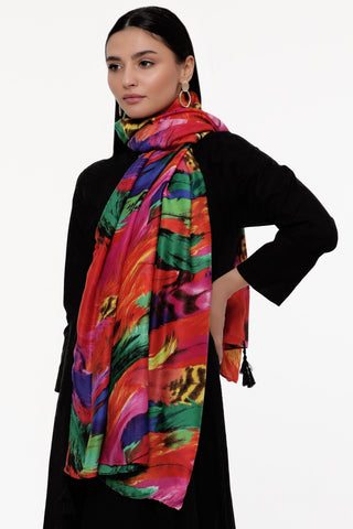 Vivacious Colours Scarf