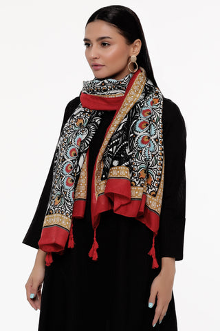 Red Ravings Scarf