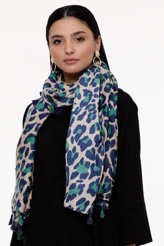 Joyful in Jade Scarf