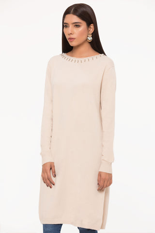 Champagne Sweater Tunic