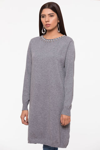 Ash & Pearls Sweater Tunic