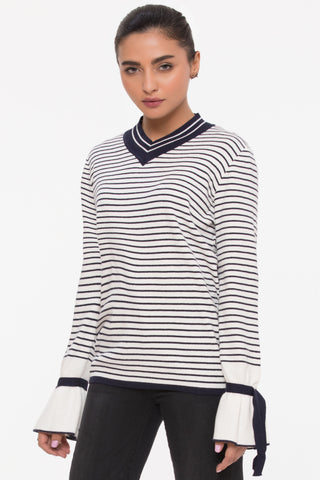 Solid Stripes Sweater