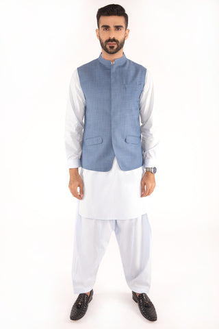 Light Blue Waist Coat