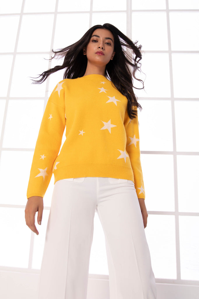 Star Pattern Sweater