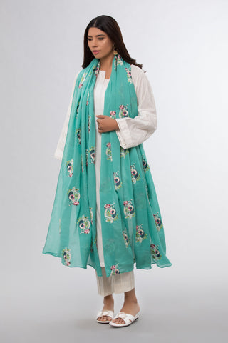 Sea Green Dupatta