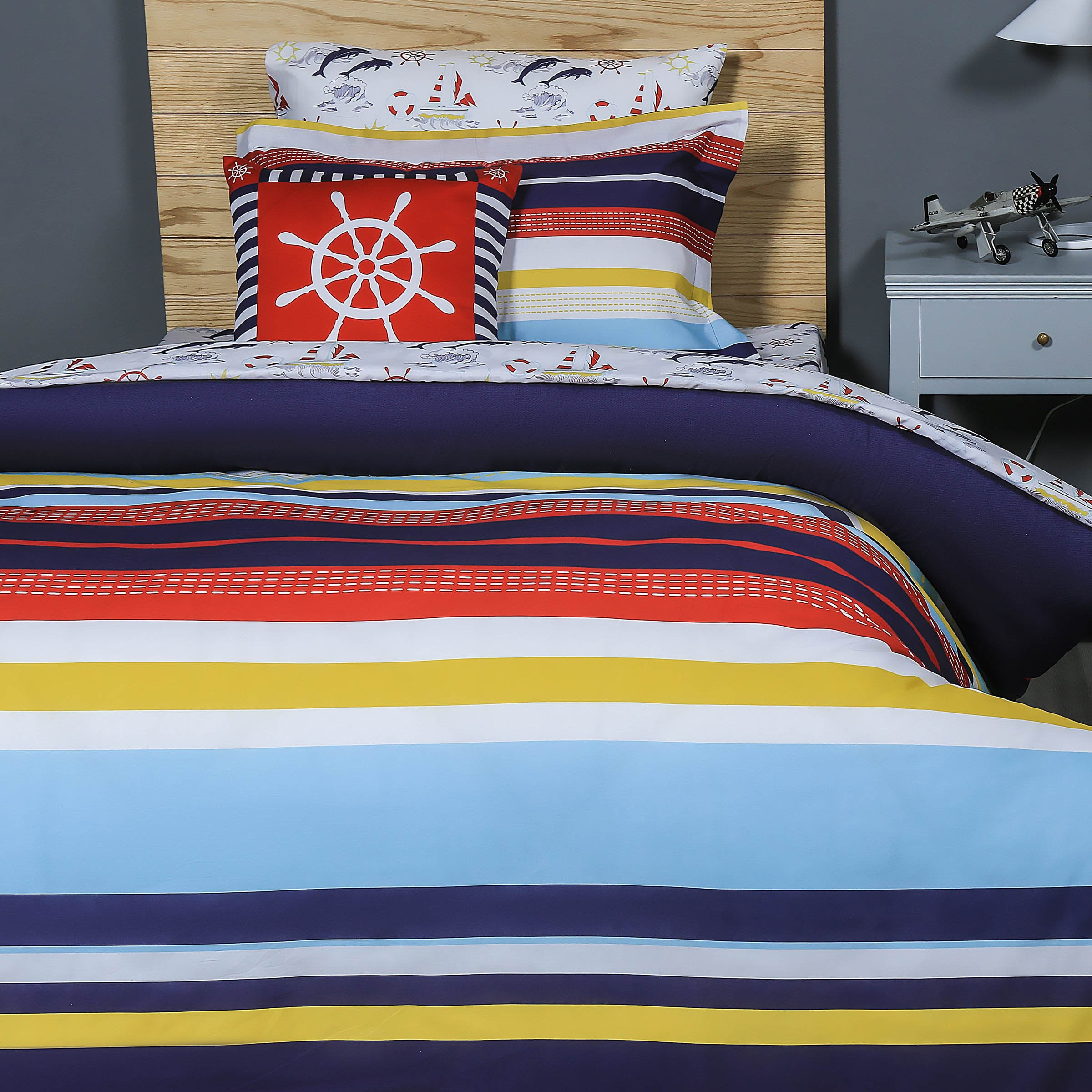 compass covers ziya blue by nautical products rose cover duvet