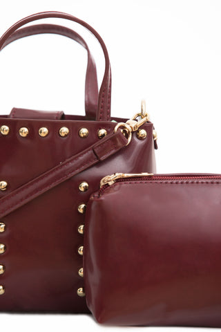Burgundy Cross Body