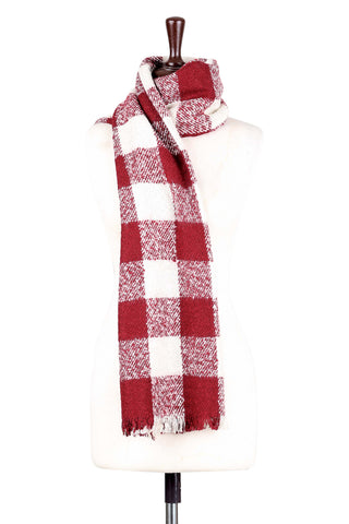 Scarf H.A.C-22-Red/White