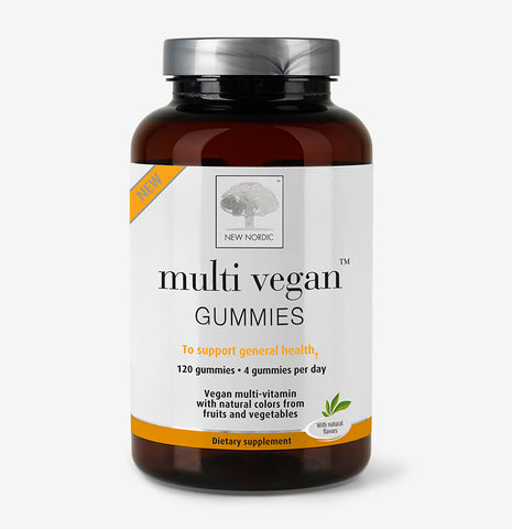 front picture of Naturally Derived Vegan Multivitamin Gummies