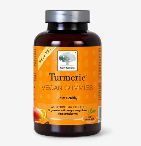 front picture of New Nordic Vegan Turmeric Gummies ™