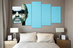 (50% OFF) GEORGE MICHAEL (C) - 5 Panel HD Wall Art Canvas Home Decor Display - ***FREE SHIPPING***