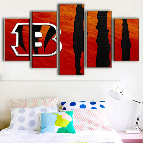 (50% OFF) HD Limited Edition Bengals Canvas Claw - Free Shipping - Fitness Equitments