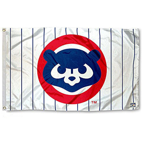 Exclusive Fan Cubs Vintage 80s Logo Flag and Banner - Fitness Equitments