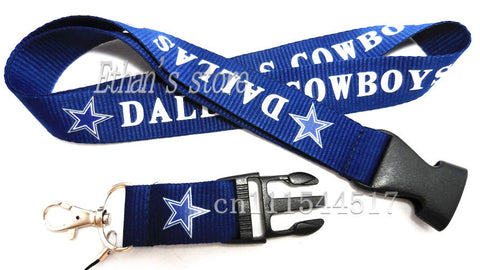 Exclusve Cowboys Fans Key Lanyard - Fitness Equitments