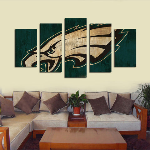 (50% OFF) HD Limited Edition Eagles Canvas Logo - Free Shipping - Fitness Equitments