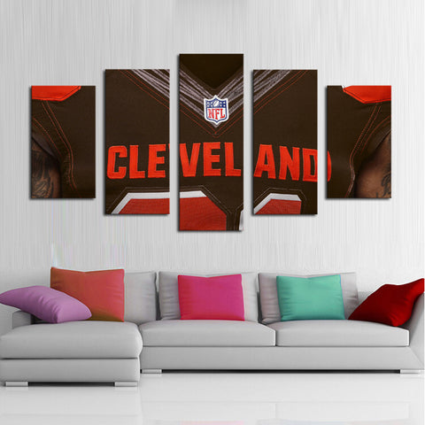 HD Limited Edition Browns Shirt Canvas
