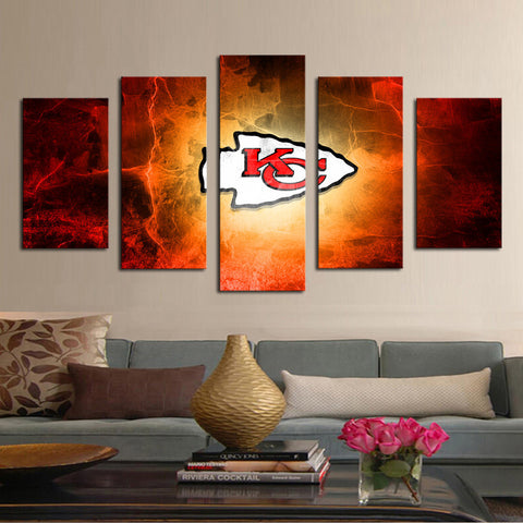 HD Limited Edition Chiefs Canvas Logo