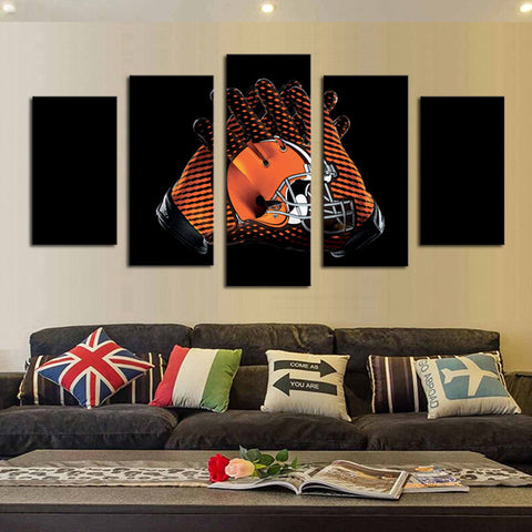 HD Limited Edition Browns United Canvas