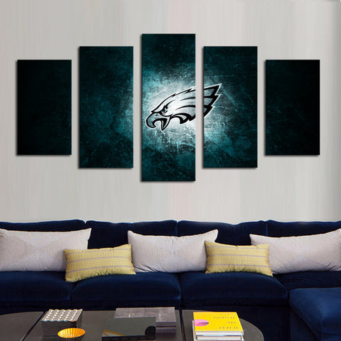 HD Limited Edition Eagles Canvas Wall