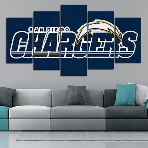 HD Limited Edition Chargers Canvas Logo