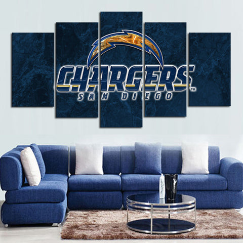 HD Limited Edition San Diego Chargers Canvas