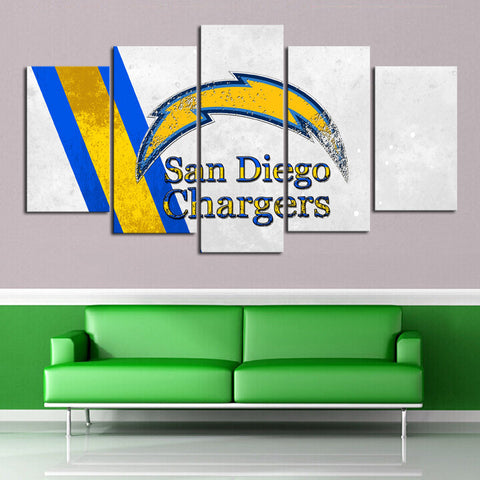 HD Limited Edition Chargers Canvas