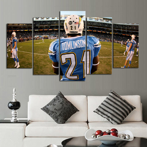 HD Limited Edition Chargers Canvas Tomlinson