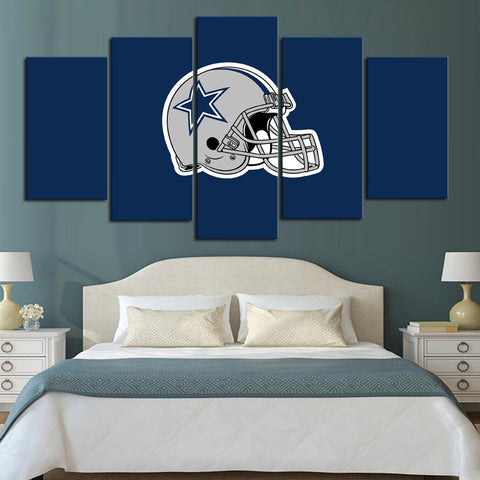 HD Limited Edition Cowboys Canvas Helmet