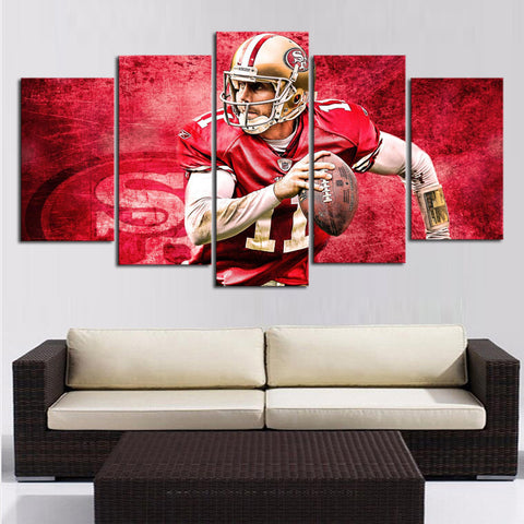HD Limited Edition 49ers Canvas Player - Fitness Equitments