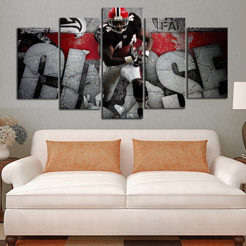 HD Limited Edition Falcons Canvas Crush