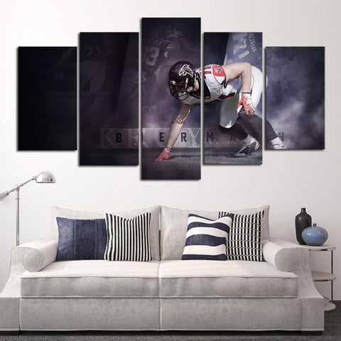 HD Limited Edition Falcons Canvas Biermann