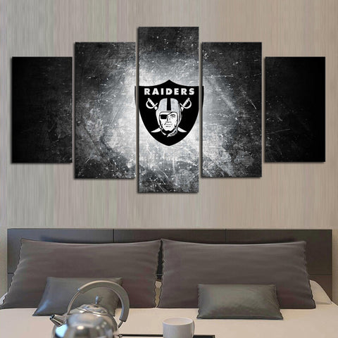 HD Limited Edition Raiders Canvas Logo