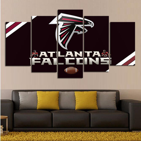 HD Limited Edition Falcons Canvas Logo