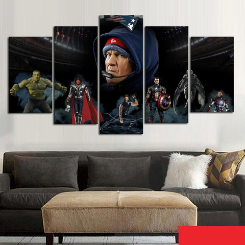 HD Limited Edition Patriots Canvas Heroes