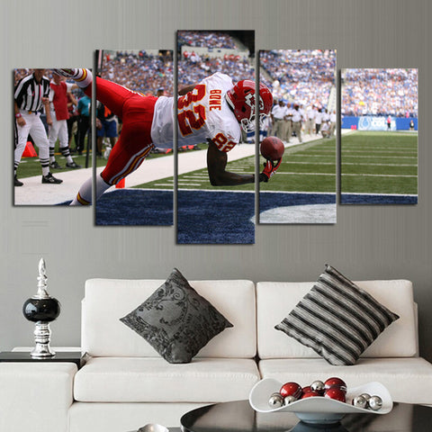 HD Limited Edition Chiefs Canvas Bowe