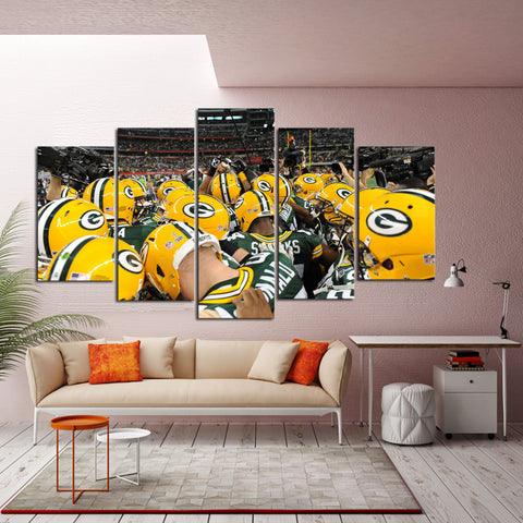 HD Limited Edition Packers Winning Team Canvas