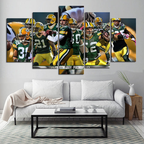 HD Limited Edition Packers Team Canvas