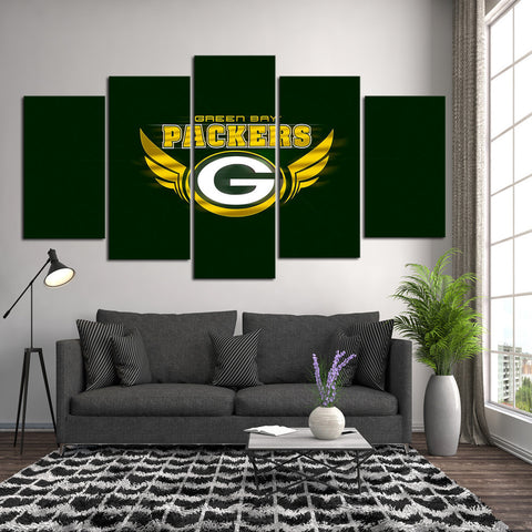 HD Limited Edition Packers Canvas