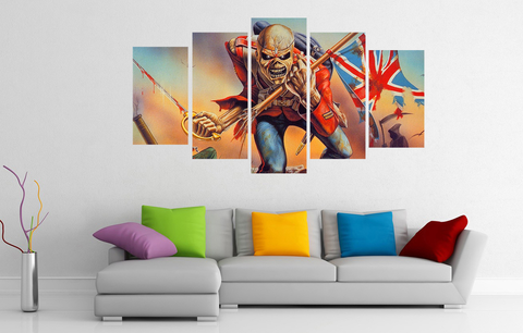 50% OFF - Iron Maiden (C)  HD Wall Art Canvas