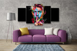 Image of (50% OFF) David Bowie (A) - 5 Panel HD Wall Art Canvas Home Decor Display - ***FREE SHIPPING***