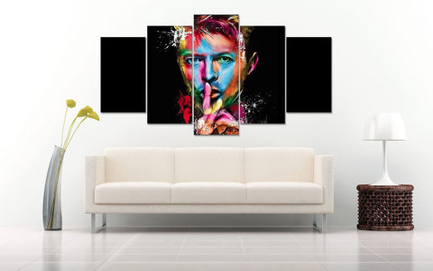 (50% OFF) David Bowie (A) - 5 Panel HD Wall Art Canvas Home Decor Display - ***FREE SHIPPING***