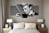 Image of (50% OFF) David Bowie (C) - 5 Panel HD Wall Art Canvas Home Decor Display - ***FREE SHIPPING***