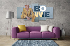 (50% OFF) David Bowie (D) - 5 Panel HD Wall Art Canvas Home Decor Display - ***FREE SHIPPING***