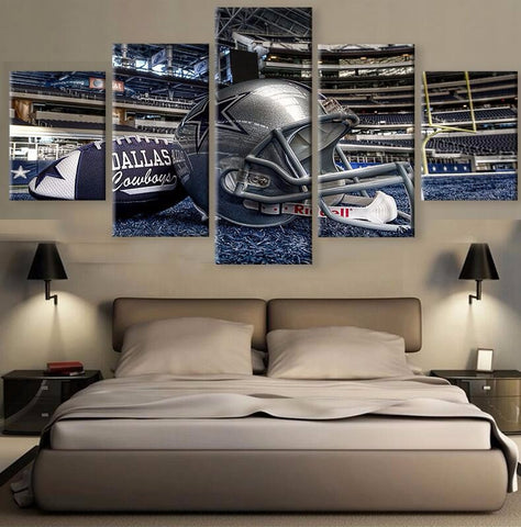 (50% OFF) HD Limited Edition Cowboys Canvas Stadium - Free Shipping - Fitness Equitments