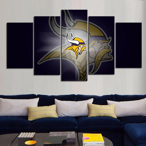HD Limited Edition Vikings Canvas