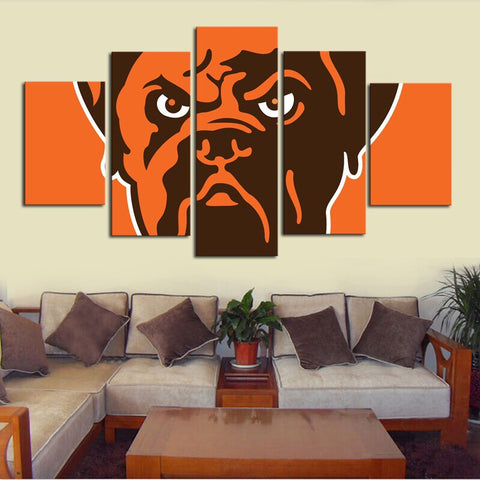 HD Limited Edition Browns Canvas Logo